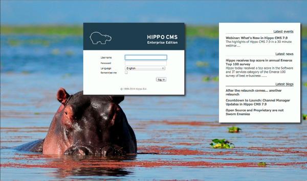 Hippp CMS 7.9 screenshot