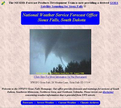 NWS Sioux Falls circa 1997