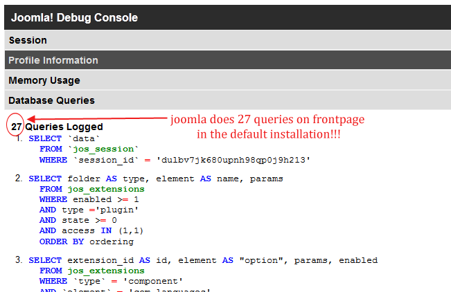 Elxis: Elxis 4 0 vs Joomla 2 5 4 benchmark comparison - socPub