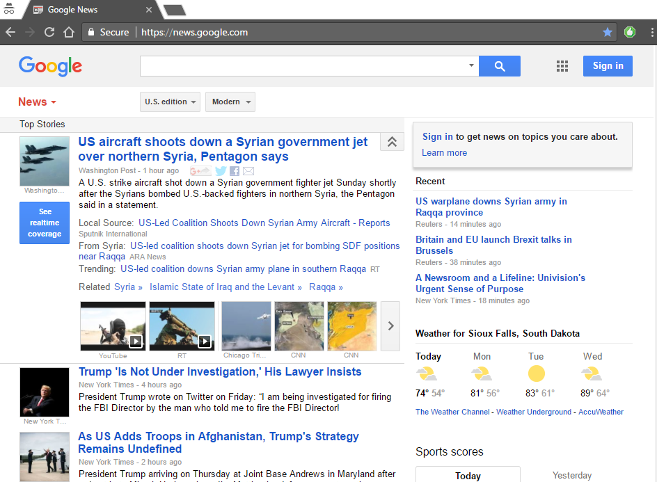 Why Google News and Weather is One of the Best Apps Today? - socPub