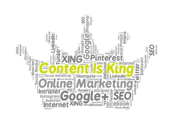 Content is King - Courtesy of Kevin Lund